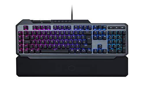 Cooler Master MK830 Tastiera MK850 Gioco Meccanico con interruttori MX della Ciliegia, Aimpad Tecnologia, precisione Ruote e RGB Illuminazione