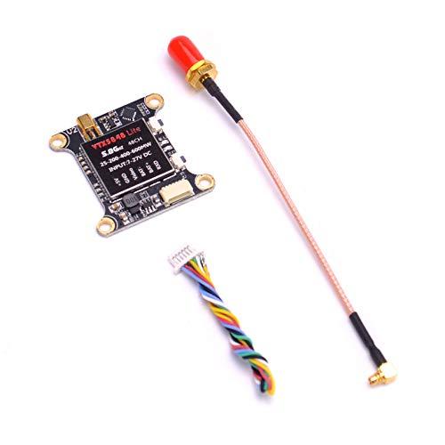 Readytosky VTX5848 LITE 48CH 5.8G FPV Transmitter 25mW /100mW /200mW /400mW /600mW Switchable VTX Transmitter Module OSD Control for FPV Racing Drone