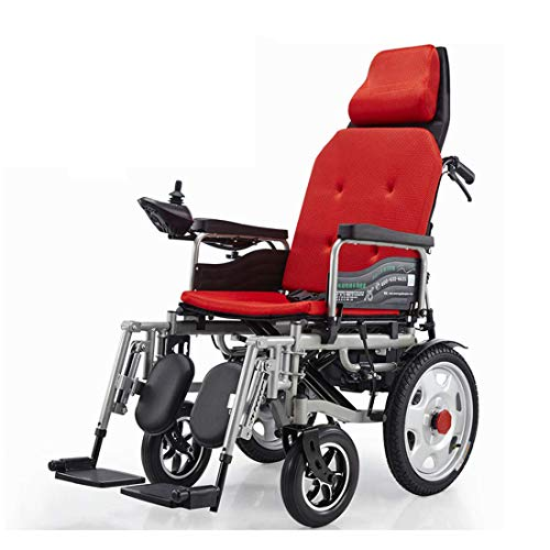 Buy Discount MUYU Electric Wheelchair Foldable Power Wheelchair 2 Modes Freely Switch Aid Wheelchair...