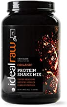IdealRaw Plant Based Vegan Protein Powder - Gluten Free, Dairy Free, Soy Free, 1.96 lbs, 30 Servings (Chocolate)