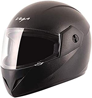 Vega Cliff CLF-LK-L Full Face Helmet (Black, L)