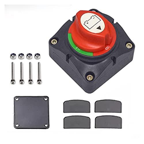 Sun Can 1 2V-60V 100A-300A Auto de coche RV Aislador de la batería de alta corriente de la batería del barco marino Desconecte el interruptor de apagado del interruptor de interruptor giratorio