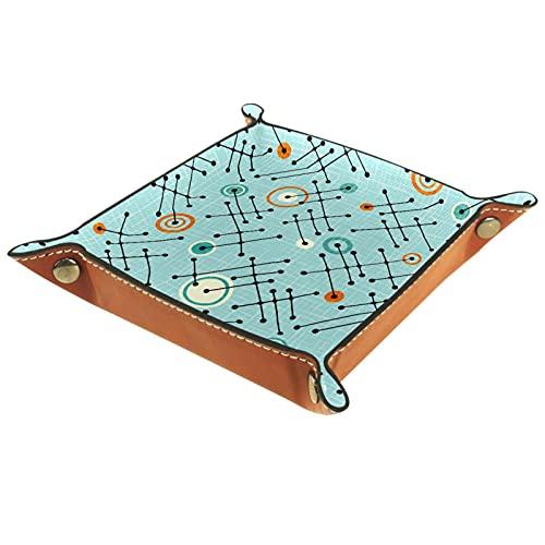 MUMIMI Bandeja de regalo para mujer, diseño de estrellas atómicas, color azul