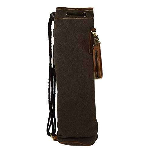 PDH Leather Drum stick bag SW-DSB-415A Black レザー製 スティックケース キャンバスバッグ付き