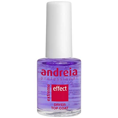 Andreia Professional Extreme Effect Dryer Top Coat - Droogolie om de droogtijd van nagellak te verminderen - 10,5 ml