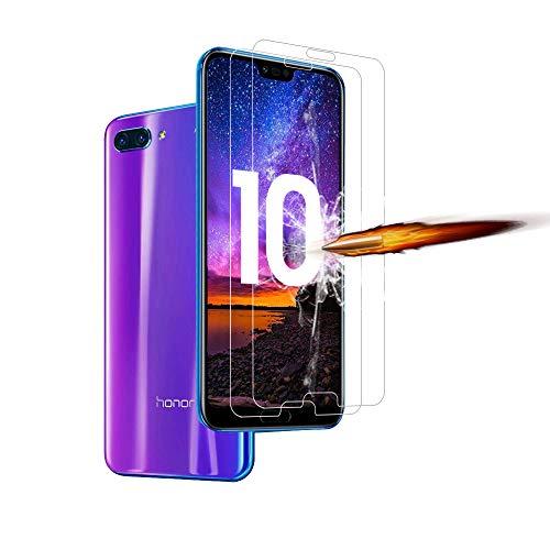 ANEWSIR [2 Pacco] Vetro Temperato per Huawei Honor 10, Honor 10 Pellicola Protettiva, Pellicole Protettive in Vetro Temperato per Huawei Honor 10 [Anti-graffio, Anti-Impronta] [HD Alta Trasparenza]