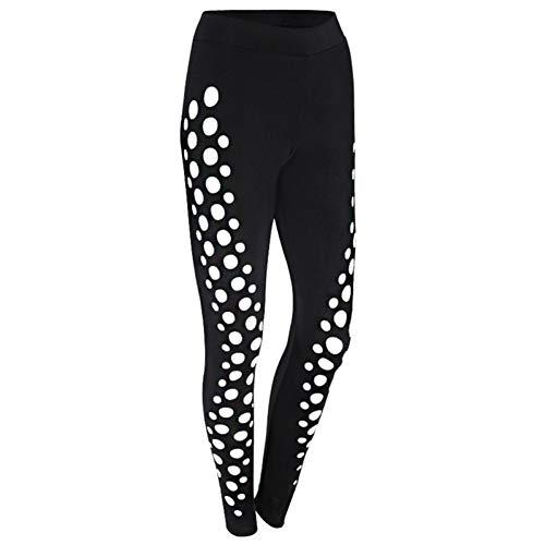 NSYJKK yogabroek voor dames, yoga, leggings, fitness, voor hardlopen en gym, sportbroek, atletisch