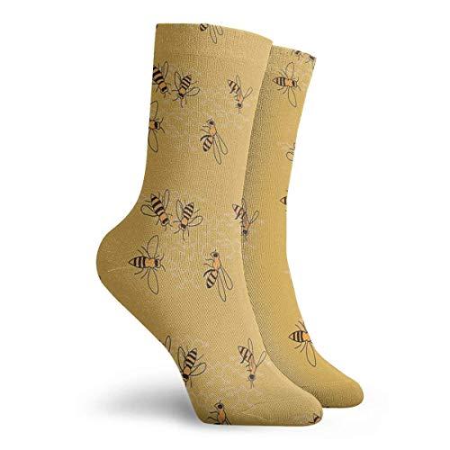 Sokken Chemische Samenstelling Van Honing Sokken Schilderen Svetlana Novikova Athletic Lange Crew Sokken voor Mannen Vrouwen 30cm