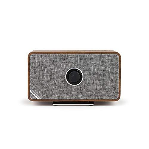 ruarkaudio MRx connected Bluetooth Lautsprecher Walnuss