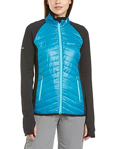 Marmot Variant Veste pour Femme Large Aqua Blue/Black