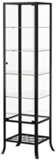 Ikea Klingsbo Glass Display Cabinet Lockable