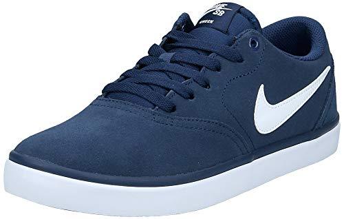 Nike Herren Sb Check Solar Skaterschuhe, Azul (Azul (midnight navy/white)), 42 EU