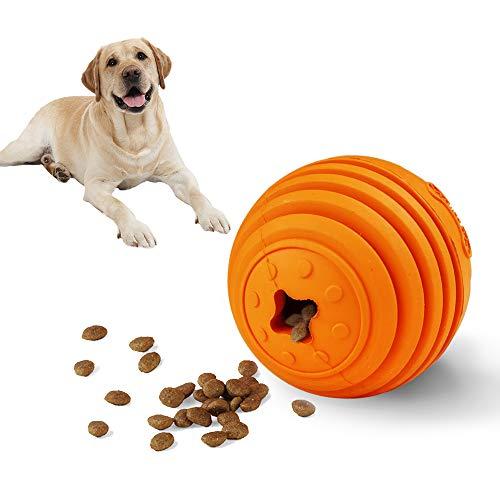 LaRoo Hundeball, Hundespielzeug Interaktive Haustiere Hunde Snackball Spielzeug mit Futter für kleine, mittelgroße und große Hunde