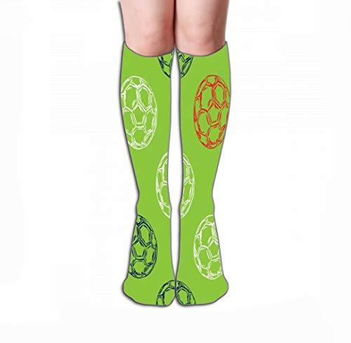 GHEDPO Hohe Socken Men's Dress Socks Fun Athletic Socks 19.7