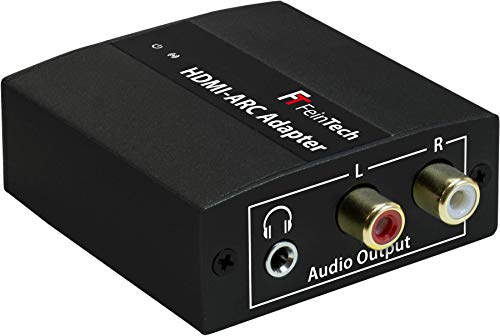 FeinTech VMA00101 HDMI ARC Audio TV-Adapter Konverter mit Lautstärke-Steuerung