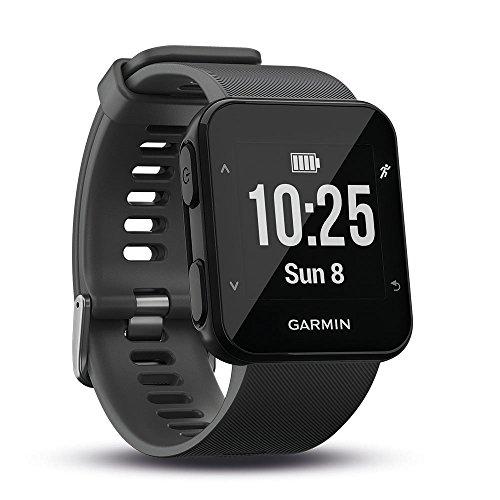 Garmin Forerunner 30 Montre GPS de Course àPied avec Cardio Poignet Gris (Reconditionné)