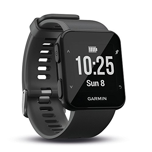 Garmin Forerunner 30 GPS-Laufuhr, Herzfrequenzmessung am Handgelenk, Smart Notifications, Connected Features, Lauffunktionen, 010-01930-03