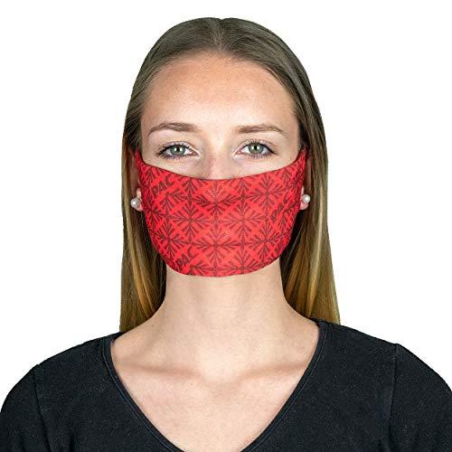 P.A.C. MN Mund-Nasen-Maske - Gesichtsmaske, Gesichtstuch, einfaches Atmen, Schlauchtuch, Halstuch, verschiedenste Designs, Unisex
