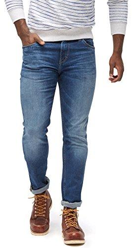 TOM TAILOR Herren Slim Jeans Josh Slim, Blau (Mid Stone Wash Denim 1052), 36W / 34L