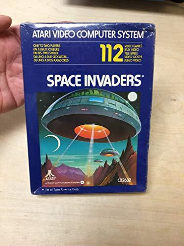 Space Invaders - Atari 2600 - CX2632 - Jeu Vidéo - Cartouche seulement - 1978