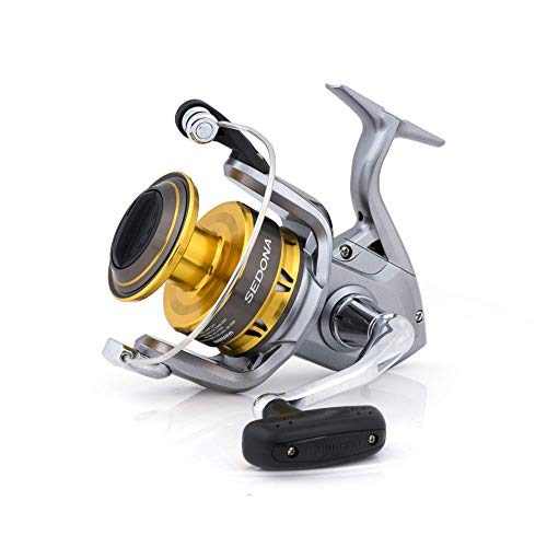 SHIMANO Sedona 2500 FI, Spinning Angelrolle mit Frontbremse, SE2500FI