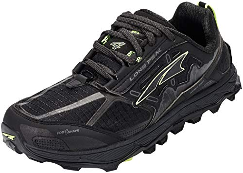 ALTRA Women's AFW1855F Lone Peak 4.0 Trail Running Shoe, Black - 7.5 B(M) US