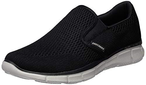 Skechers Equalizer Double Play, Men\'s Fitness Shoes, Black (Black/White), 9.5 UK (44 EU)