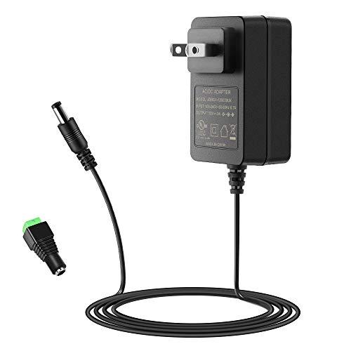 SHNITPWR Adaptador de fuente de alimentación de 12 V 2 A UL listado 100 V ~ 240 V CA a CC convertidor de 12 V 2000 mA 24 W máximo...