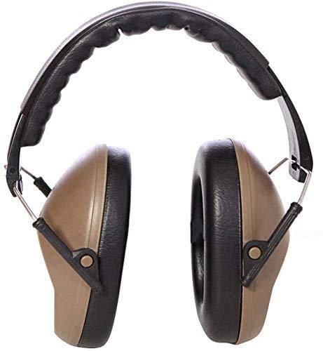 Gehoorbescherming Geluiddichte oorbeschermers, Noise-Proof Site Geluidsreducerend Gehoorbescherming Earmuffs, Leren Sleep Noise-Proof geluidsdichte koptelefoon