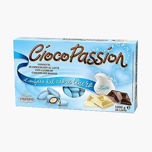 CONFETTI CRISPO - CIOCOPASSION | 1 KG (Classico Azzurro)