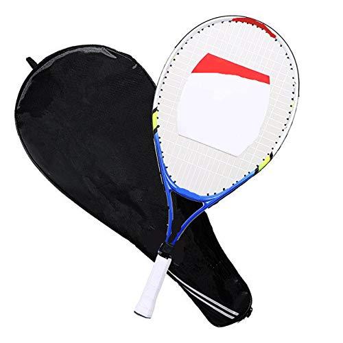La Raqueta de Tenis de aleación de Aluminio es Adecuada para el Entrenamiento de niños-23 Pulgadas Azul