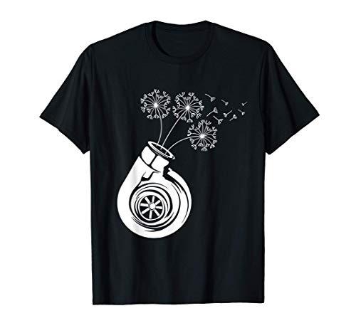 Turbocharger Dandelion Boost Flower Gift Camiseta