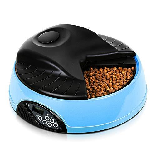 Sweet Futterautomat Katze Automatischer Futterspender FüR Katze Und Hund Pet Feeder LCD Mit Timer Und Aufnahmefunktion