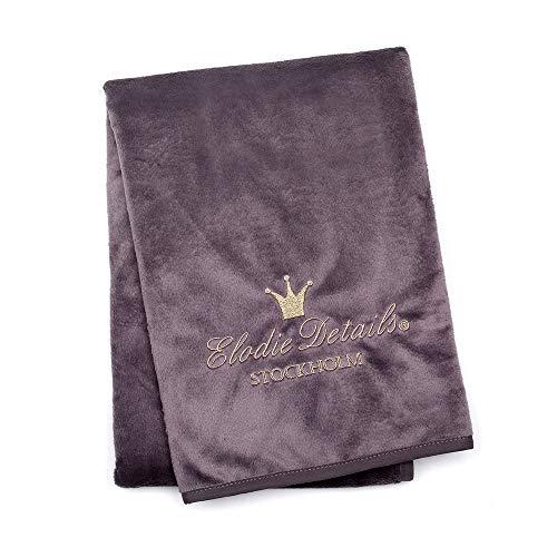 Elodie Details Elodie Details Lila Decke (Pearl Velvet Plum) 70 x 100 cm