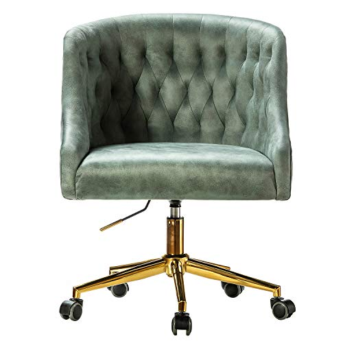 Home Office Arms Task Chair with Swivel for Study Bedroom Desk Chair - SAGE