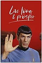 Star Trek Spock Live Long and Prosper Poster Maxi - 91.5 x 61cms (36 x 24 Inches)