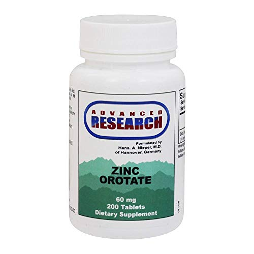 Zinc Orotate 9.5 mg 200 Tabs by Advanced Nutritional Research