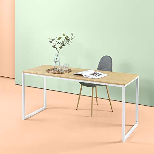 Zinus Jennifer Modern Studio Collection Soho/ Schreibtisch/ Tisch/ Computerschreibtisch/ Rechteckiger Esstisch/ Table-in-a-Box/ Weisses Finish/ 160 x 60.1 cm