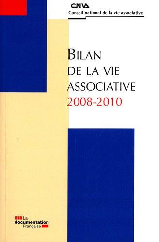 BILAN DE LA VIE ASSOCIATIVE 2008-2010 (SANS COLL - HCVA)