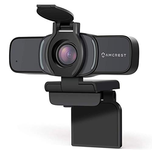 Amcrest 1080P Webcam with Microphone &...