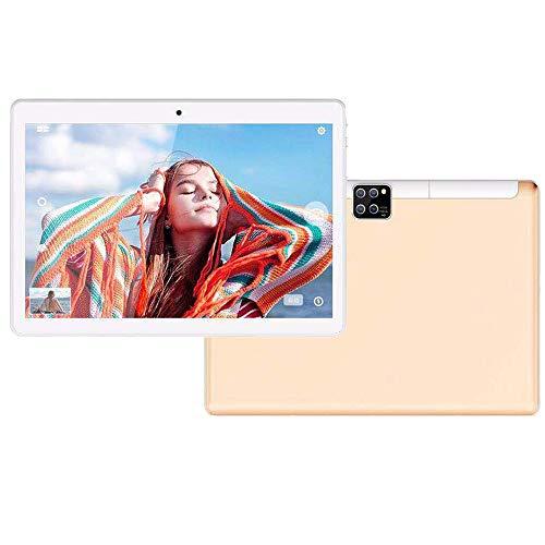 tablet PC de 10 Pulgadas Pantalla táctil Inteligente HD PC con Android con Bluetooth WiFi GPS Cámara HD portátil Ultrafina