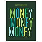 """TF Publishing - Money Budget Tracker - Family Finance Monthly Planner - 12 Months Undated - Easy Fill In Prompts to Record, Plan and Track Expenses - Slim and Portable - Durable Cover - 7.5 x 10.25"""""""