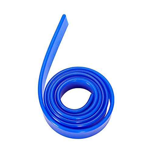 PHILSP Limpiaparabrisas de Ventana 41'Recorte a Medida Repuestos de limpiaparabrisas de Goma Limpiador de Ventana de Goma de Repuesto Azul