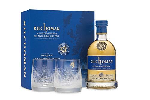 Kilchoman THE MACHIR BAY GIFT PACK 46{42e009c53e14bf46046dd2d7e752491e30dbf28962b3da363e56c60cbbb89fe9} Volume 0,7l in Geschenkbox mit 2 Gläsern Whisky