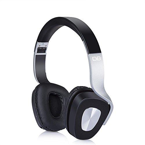 Victorist BE-1000 On-Ear Funkkopfhörer Faltbare Bluetooth Kopfhörer V4.0 Stereo Mit Eingebautem Mikrofon für PC, Smartphones und TVs, Ultraleicht (183g)