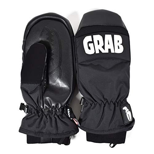 CRAB GRAB(クラブグラブ) メンズ レディース PUNCH MITT GLOVE パンチ ミトン 手袋 スノーグローブ スノボ スノーボード punch-mitt-L-M19002-BLK