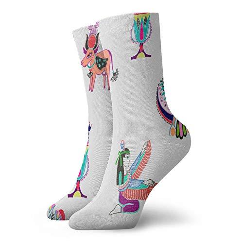 Calcetines, marcador de bosquejo de dibujo deportivo, calcetines casuales de poliéster, calcetines de tubo de tripulación de 11.8 pulgadas para hombre y mujer