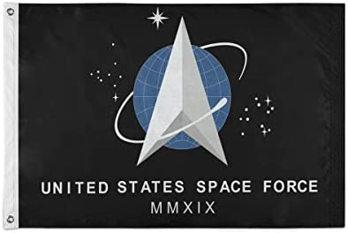 Joysay Flag 2x3 FT Outdoor Banner United States Space Force Trump Air Flag with Brass Grommets product image