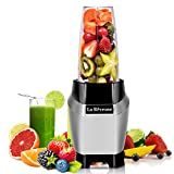La Reveuse Personal Blender Making Shakes and Smoothies 1000 Watt-with 24 oz BPA Free Portable...