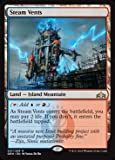 Magic The Gathering - Steam Vents (257/259) - Guilds of Ravnica